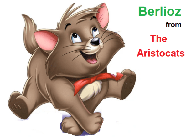 Berlioz from The Aristocats