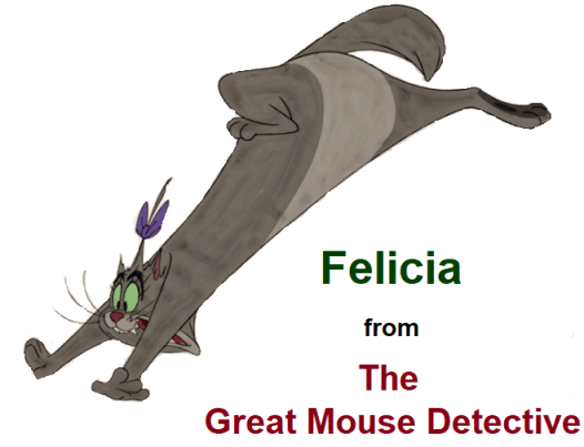 Felicia from The Great Mouse Detective
