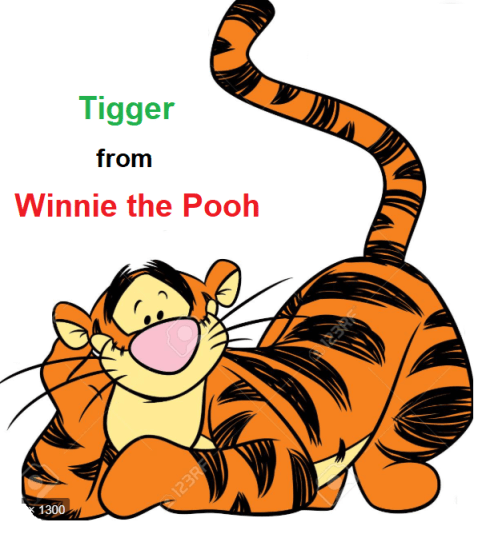 Tigger from Winnie the Pooh