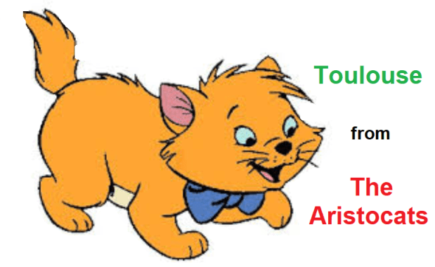 Toulouse from The Aristocats