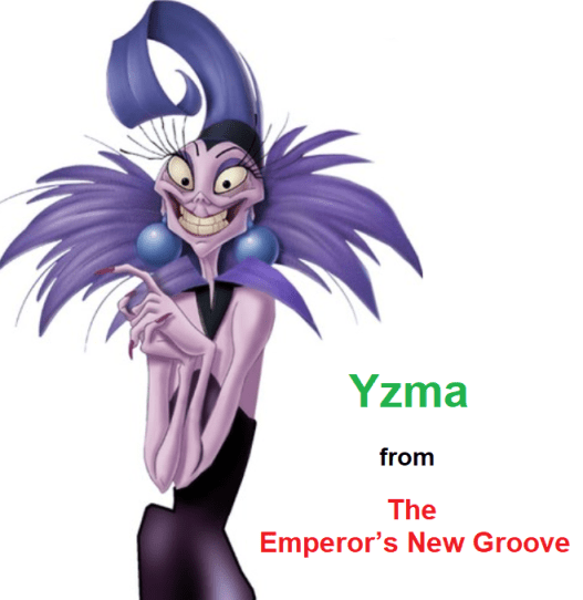 Yzma from The Emperor's New Groove