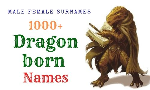 Dragonborn Names