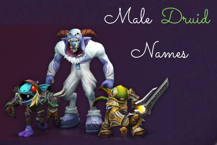 Male Druid Names