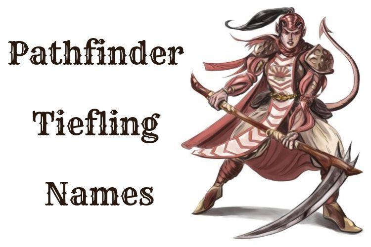 Pathfinder Tiefling Names