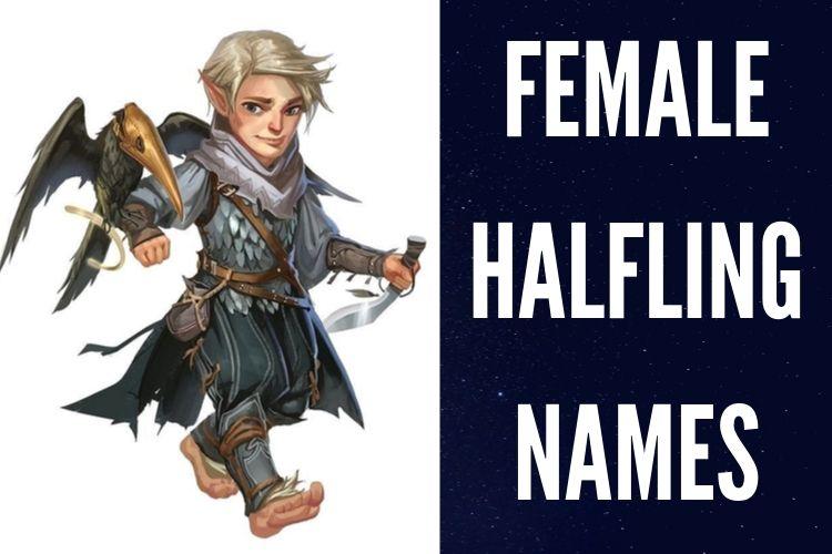female Halfling Names