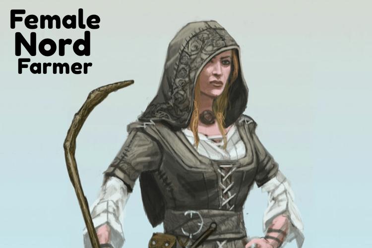 Female nord farmer