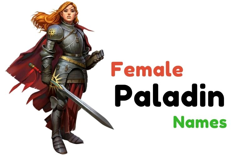 Female Paladin Names