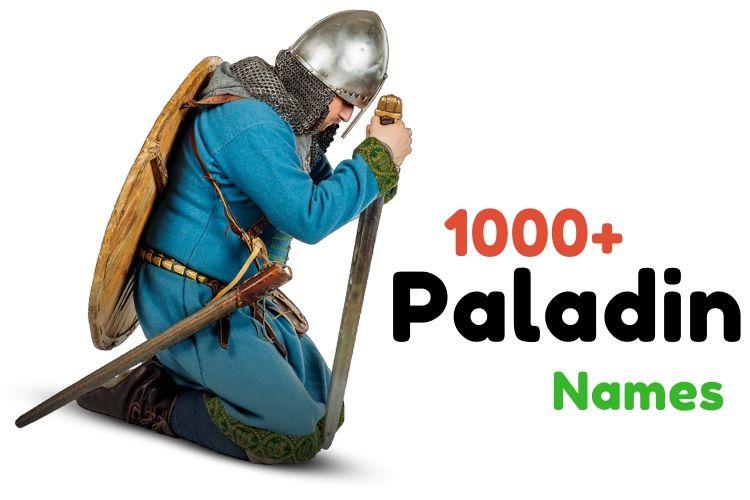 Paladin Names