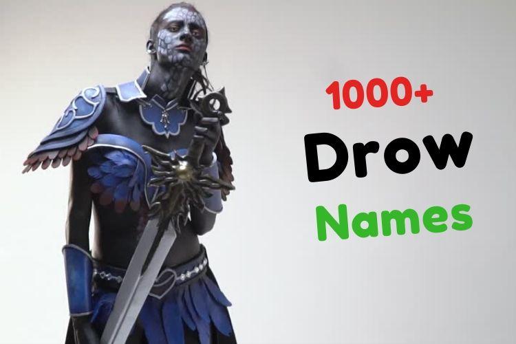 Drow Names