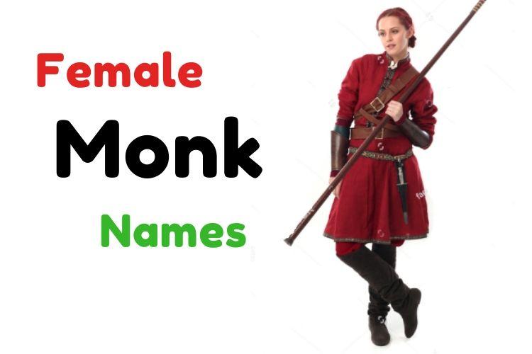 Female Monk Names