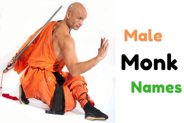Males Monk Names