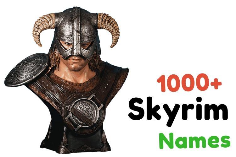 skyrim names