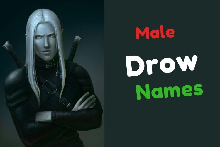 Drow Male Names